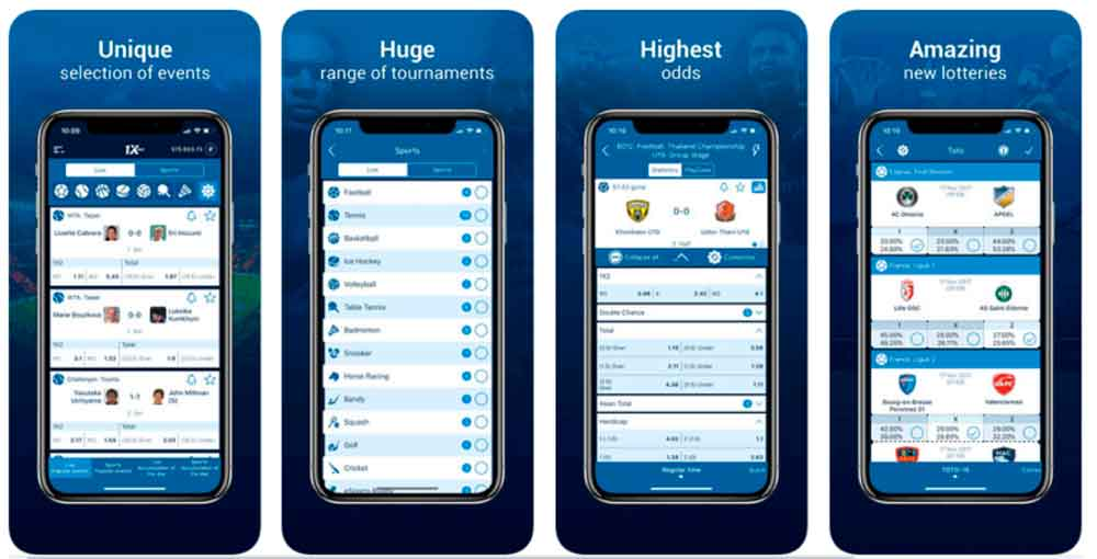 Why choose the 1XBet app?
